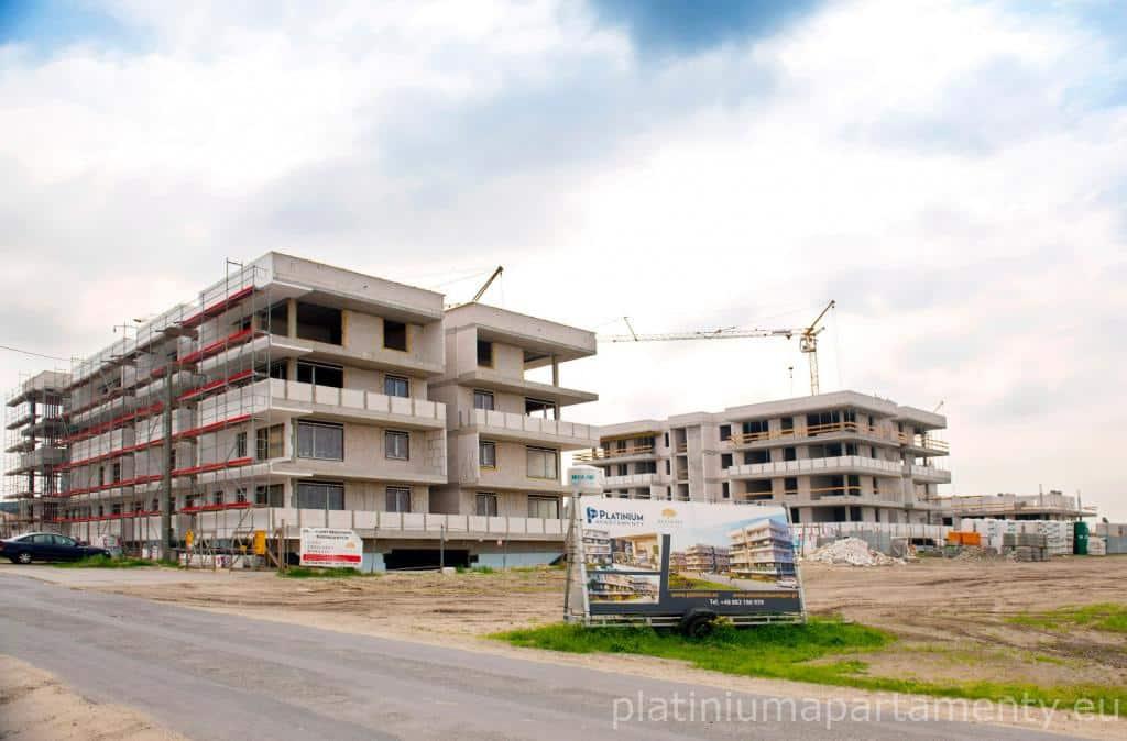 Platinium Apartamenty – dziennik budowy maj 2018 r