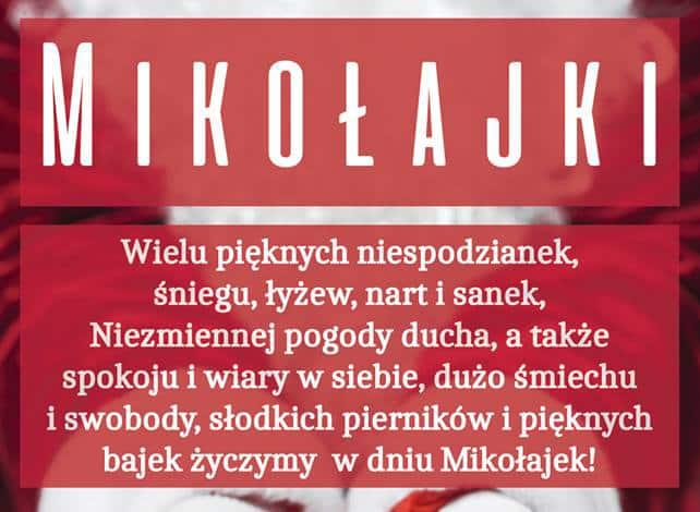 Dziś Mikołajki